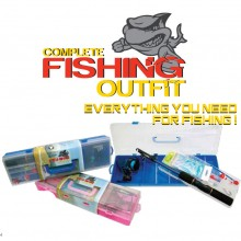 Pioneer Complete Fishin Outfit