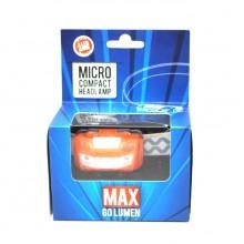 Micro Compact Headlamp  (60 Lumens)