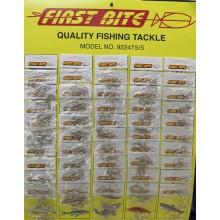 F/Bite Carded Hooks 92247S/S