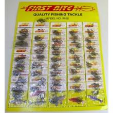 F/Bite Carded Hooks 9555