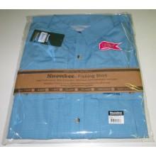 Snowbee Flats Fishing Shirt Blue-Med