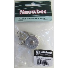 Snowbee Mini Fly Reel Keychain