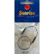8315 Hackle Plier Rubber Tip S